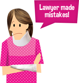 Lawyer made mistakes!